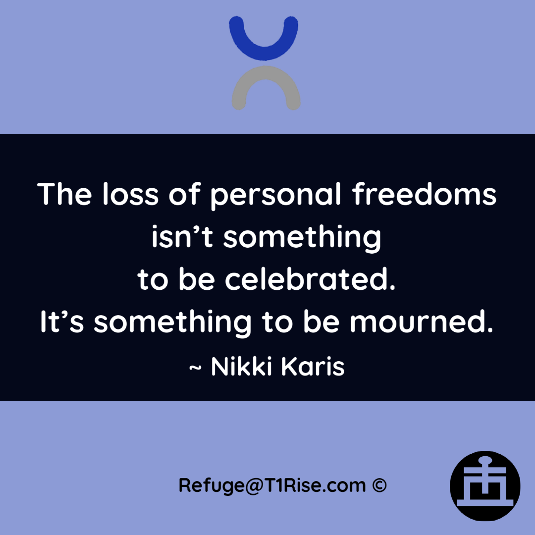 Freedom Empowerment Quotation by Nikki Karis