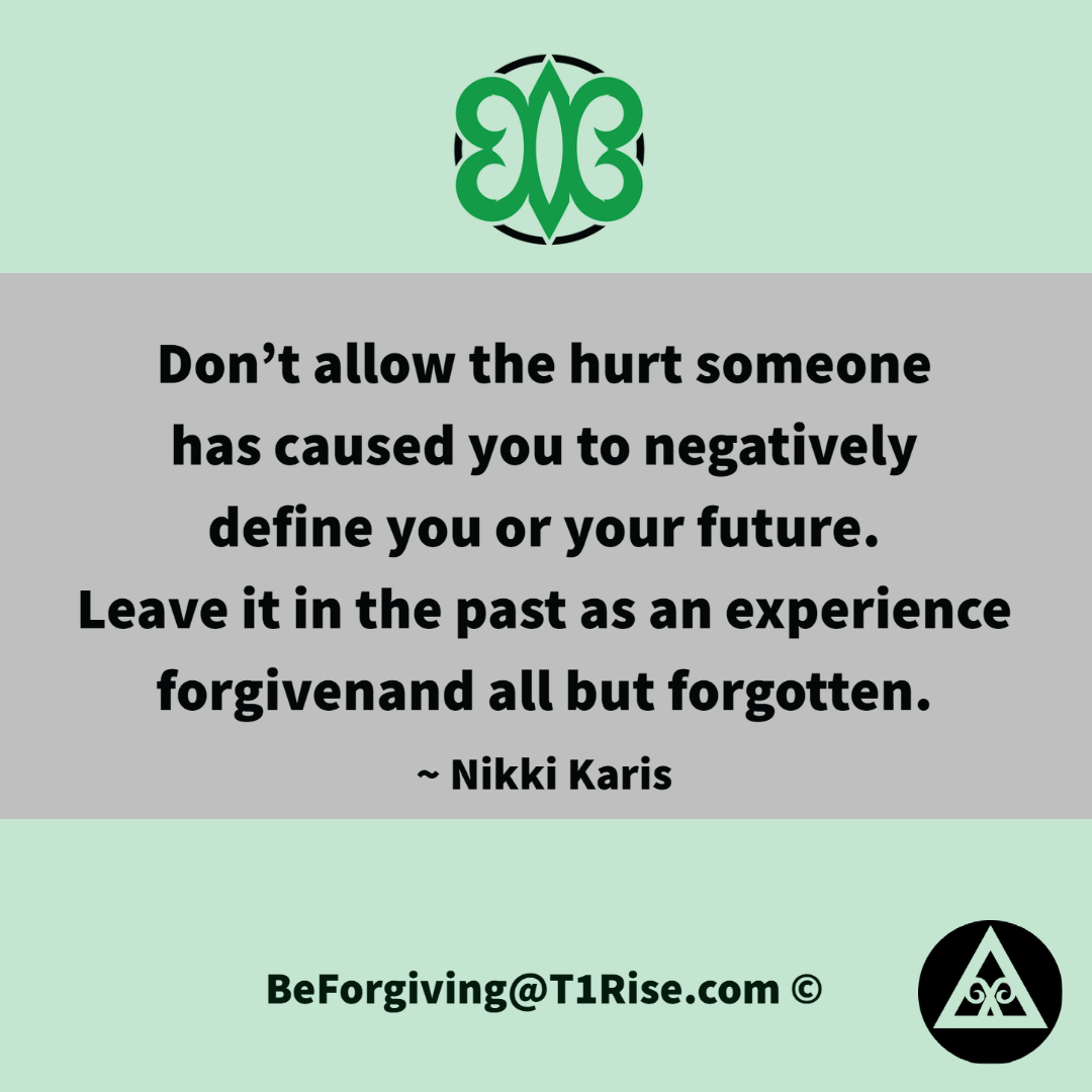 Forgiveness Inspirational Quotation by Nikki Karis