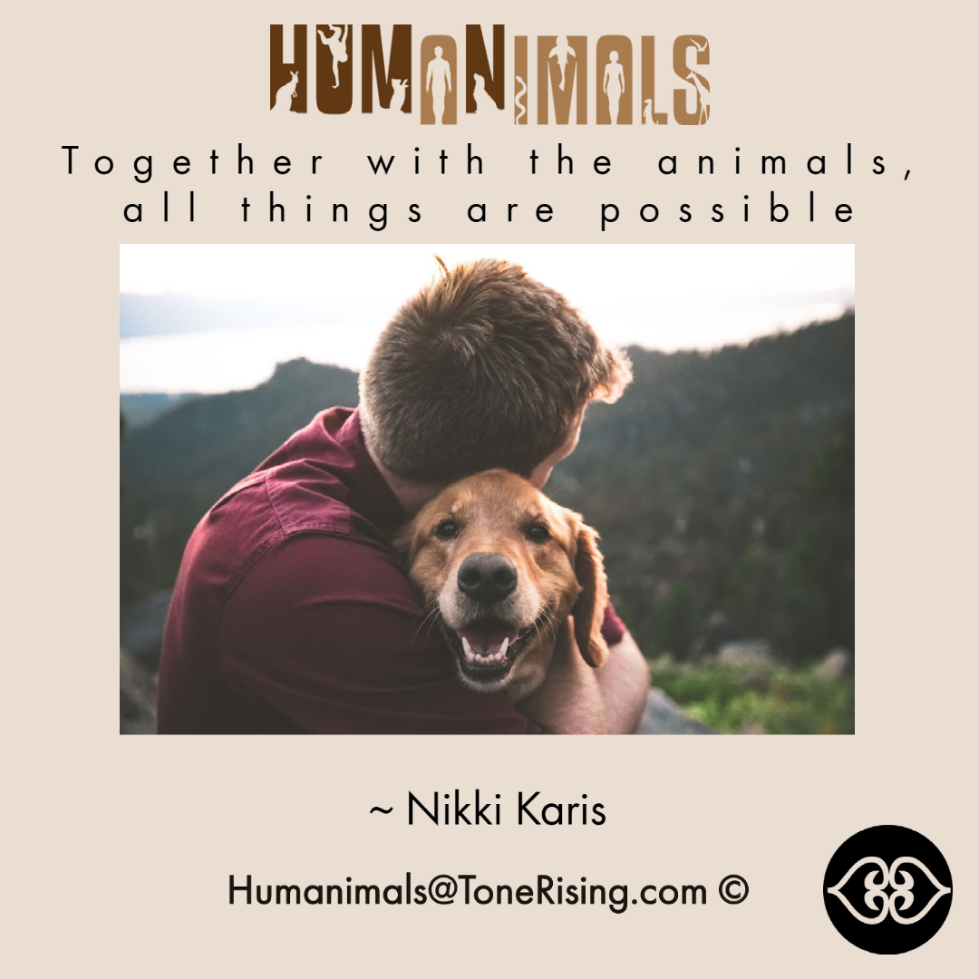 Unifying Humanimals Quotation by Nikki Karis